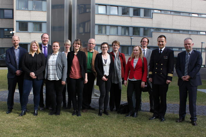 Gruppenfoto Kick-Off Treffen in Bonn. -